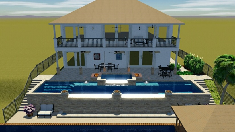 Coming Soon Luxury Home With Outdoor Kitchen Infinity Pool With Spa
